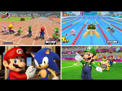 Mario & Sonic at the London 2012 Olympic Games - All Olympic Events