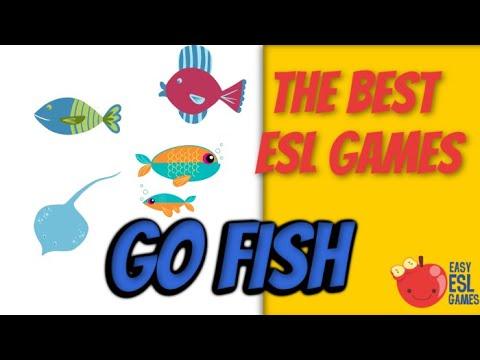 The Best ESL Games   Go Fish Have   Easy ESL Games