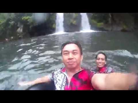 Bunga Twin falls,  Nagcarlan Laguna