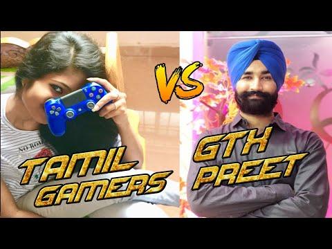 GTX PREET Vs TAMIL GAMERS | KYA HUA THA YAHA