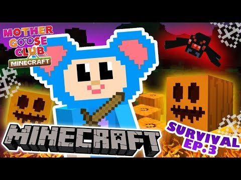 Eep Survival Mode | Part 3 | How to Farm with Zombies | Mother Goose Club Minecraft