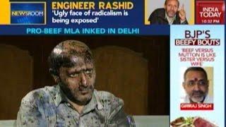 Newsroom: Engineer Rashid Attacked, Inked By Hindu Sena Fringe Group