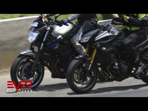 Yamaha XJ6 VS Yamaha MT-09 Tracer | Drag Races