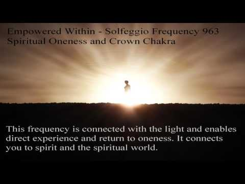 Solfeggio Frequency 963 Hz Crown Chakra...