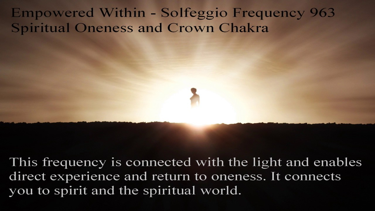 Image result for solfeggio frequency 963