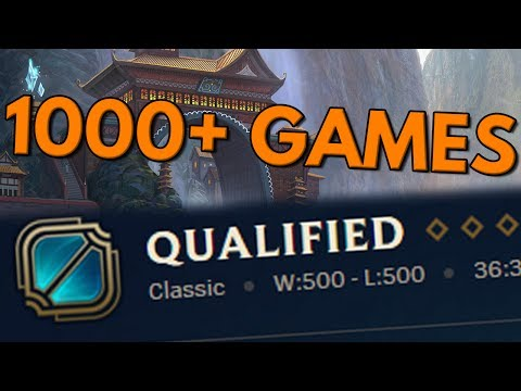 1000+ RANKED GAMES THIS SEASON - Road to Masters Ep. 11
