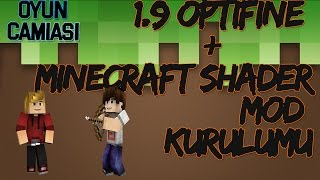 1.9 Minecraft Optifine  + Minecraft Shader Mod Kurulumu