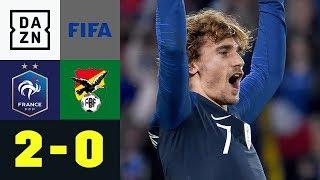 Antoine Griezmann legt auf und trifft: Frankreich - Bolivien 2:0 | Testspiele | DAZN Highlights