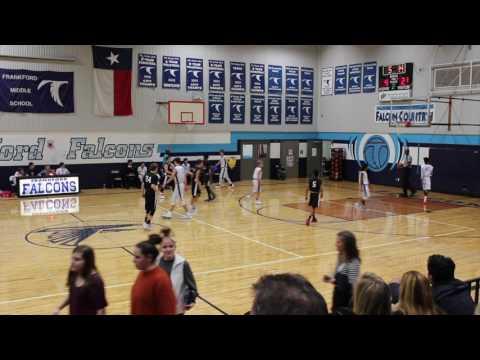Frankford vs Renner 8th grade A team