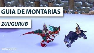 Guia de Montarias - Zul'gurub Raptor + Pantera