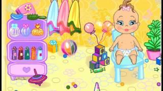 Купания игра для маленьких детей Геймплей   Amazing HD с музыкой