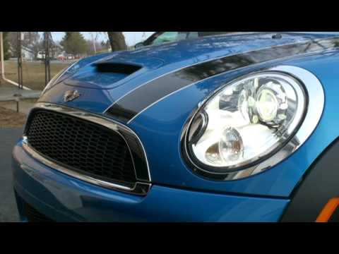 2008 Mini Cooper S Xenon Headlight Washers Youtube
