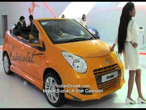 Maruti suzuki A-star cabriolet video