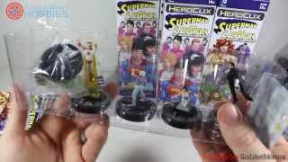 DC Heroclix Superman and The Legion of Super-Heroes Unboxing