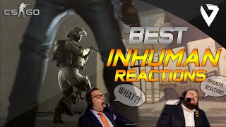 CS:GO - Best INHUMAN Reactions