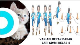 Download VARIASI GERAK DASAR LARI SD KELAS 4