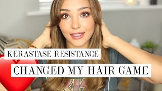 KERASTASE RESISTANCE SHAMPOO &amp MASK REVIEW| MIXED RACE BLEACHED HAIR