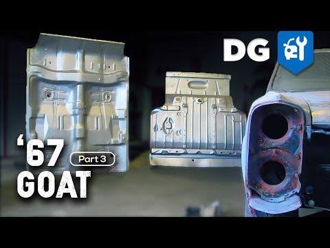 '67 Pontiac GTO Restoration – FLOOR INSTALL [EP3]