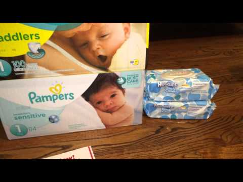 Cheap Target Pampers Diaper Deal Coupon and Gift Card 7/22/14