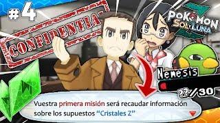 ¡Nuestra PRIMERA MISIÓN POLICIAL! - Pokémon Sol y Luna Z Ep.4