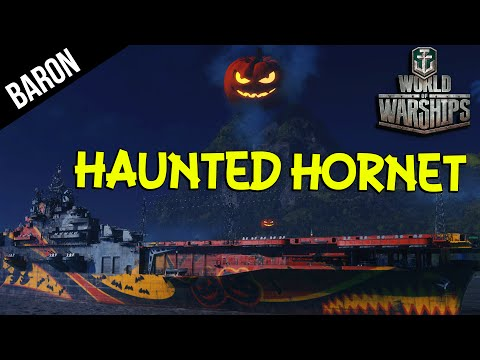 Haunted Hornet Aircraft Carrier - World of Warships Phantom