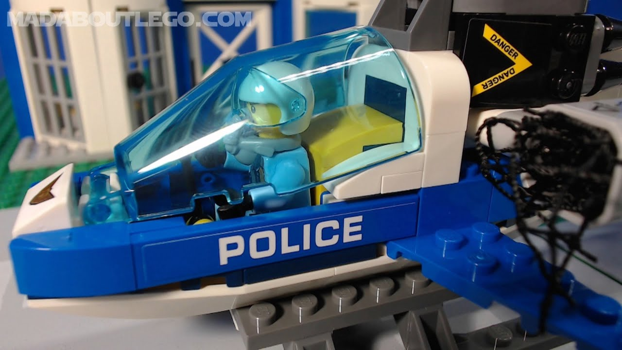 Lego City Sky Police Drone Chase 60207 Youtube