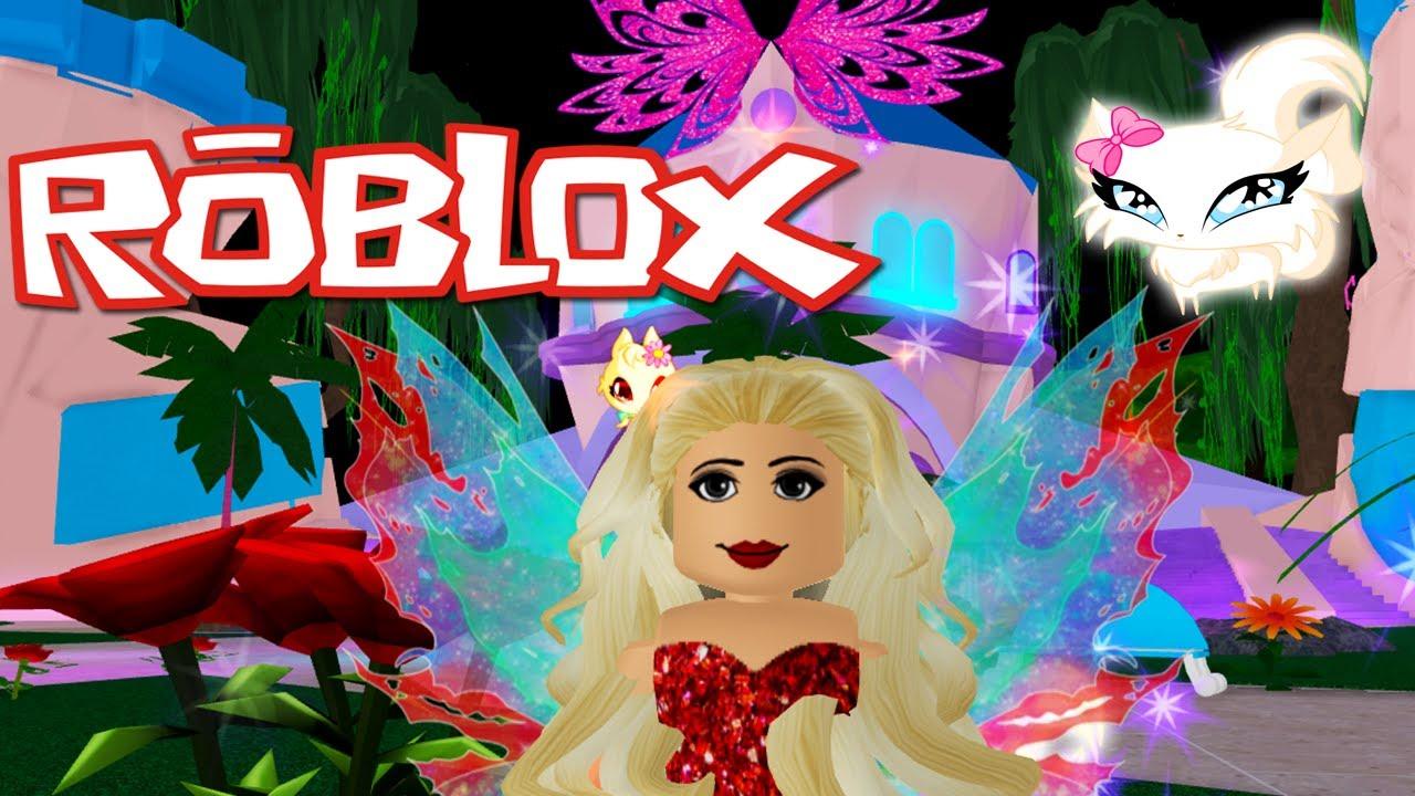 Pets And Salon Roblox Fairies Mermaids Winx High School Beta