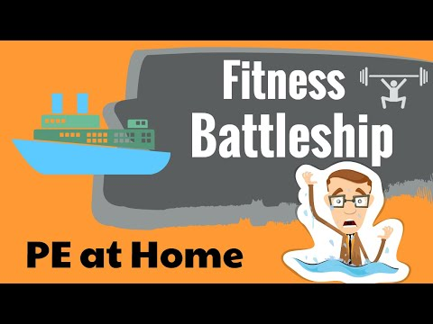 Fitness Battleship - PE at Home
