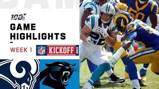 Rams vs. Panthers Week 1 Highlights | NFL 2019