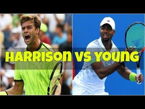 Ryan Harrison vs Donald Young  1R New York Highlights