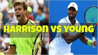 Ryan Harrison vs Donald Young | 1R New York Highlights