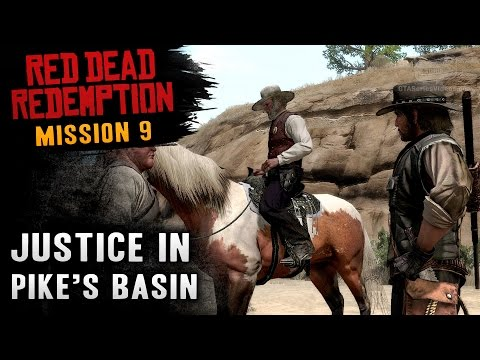 Red Dead Redemption - Mission #9 - Justice in Pike's Basin (Xbox One)