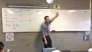 Differentiating x^x (2 of 3: By Changing the Base)