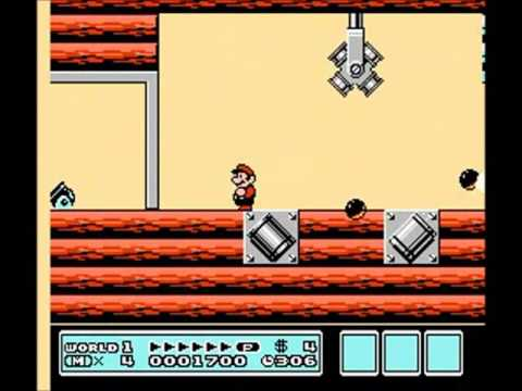Random SMB3 Custom Level - Boom-Boom's 2nd Brutal Airship