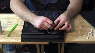 HOW TO CLEAN PS4 PRO - Cleaning PS4 LOUD FAN Tutorial