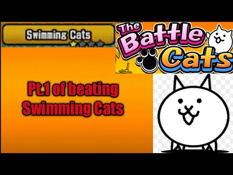 Pt.1 of beating Swimming Cats (The Battle Cats)