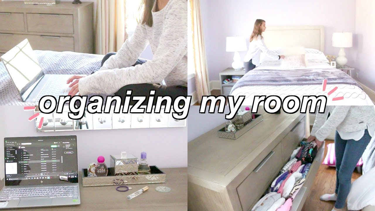 Organize My Room w/ Me for 2018! || Organization Tips