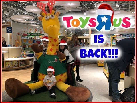 TOYSRUS IS BACK!! Christmas Toy HUNT 2019! 1st Toysrus To Open Back Up In The U.S!