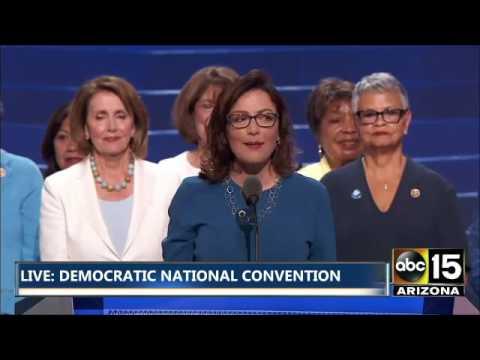 FULL: Nancy Pelosi & Women of the United States Representatives - Democratic National Convention