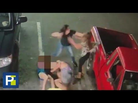 Super Martinez - Violenta Pelea de Pareja con una Familia de la FL