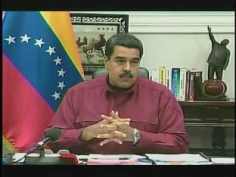 Las ofensas de Maduro contra el Gobernador de Miranda en cadena nacional