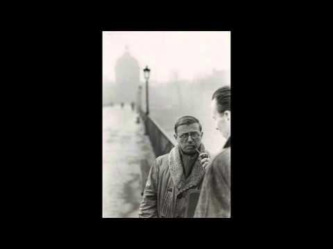 Jean-Paul Sartre à la Sorbonne [1946]
