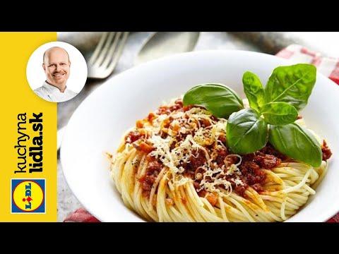 Bolognese špagety podle Romana Palduse