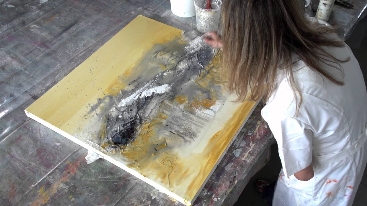 how to use bitumen on canvas