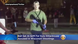 Bail Set At $2M For Kyle Rittenhouse Accused In Wisconsin Shootings