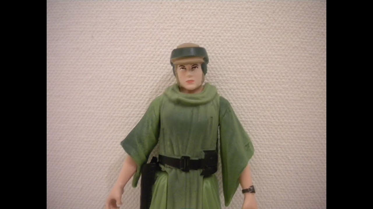 Princess Leia Endor Star Wars Saga Legends SL28 action figure