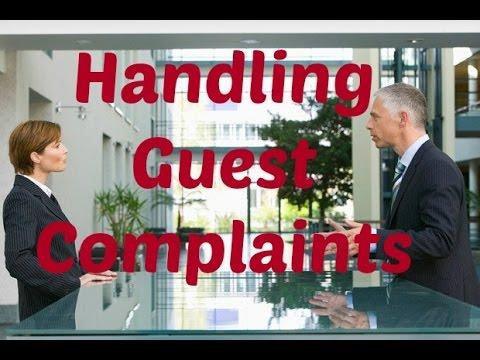 HANDLING GUEST COMPLAINTS