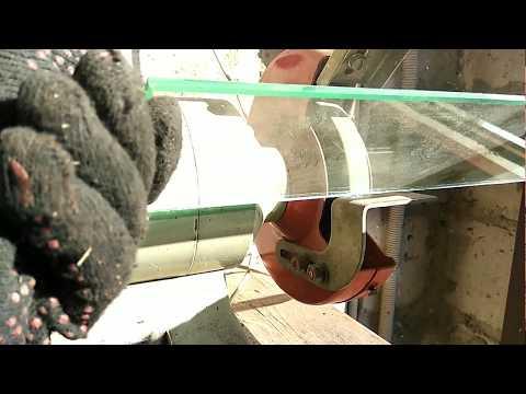 Как обработать край стекла в домашних условиях