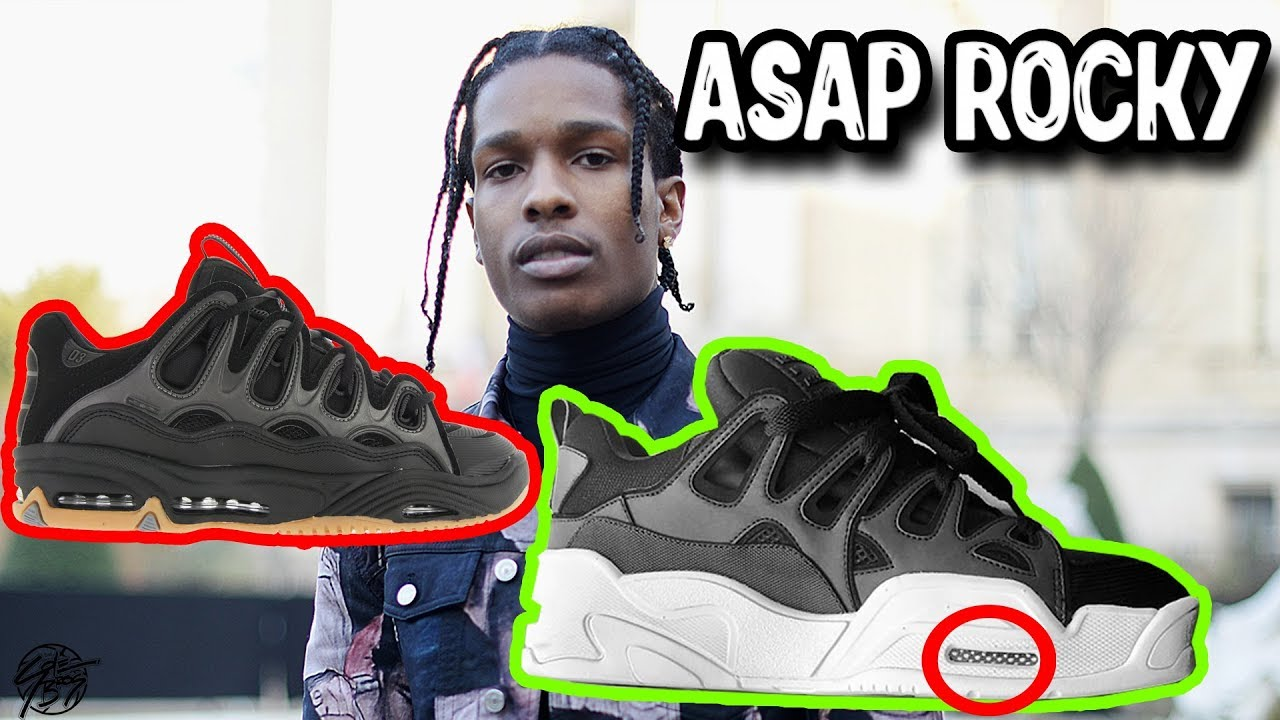 Asap Rocky's New Under Armour Shoe Has