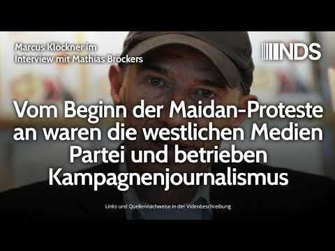 Mathias Bröckers: Vom Beginn der Maidan-Proteste an waren die westlichen Medien Partei